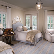 Traditional Bedroom by A. Tate Hilliard, Architect/Builder