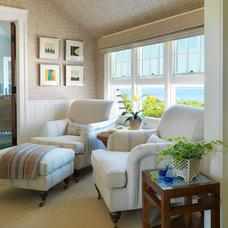 Beach Style Bedroom by Anthony Catalfano Interiors Inc.