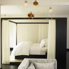 Mediterranean Bedroom by Amy Noel Design
