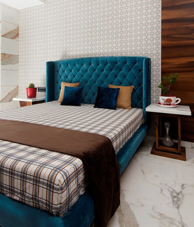 Contemporary Bedroom by Anish Motwani Associates
