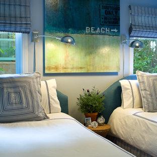 Bedroom - mediterranean bedroom idea in Los Angeles