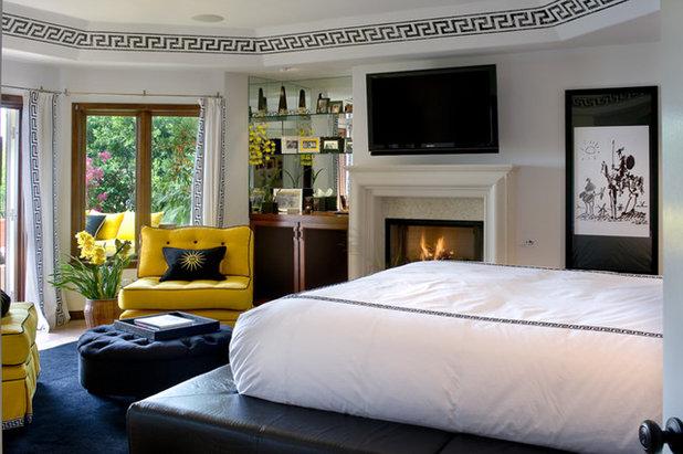 Mediterranean Bedroom by Tracy Murdock Allied ASID