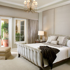 Contemporary Bedroom by Malibu West Interiors