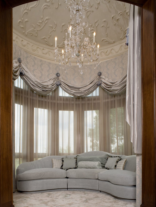Luxury window treatments home design ideas pictures Luxury window treatments