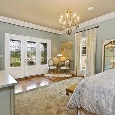 Transitional Bedroom by Maria Barcelona Interiors, LLC