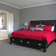 Transitional Bedroom by Sarah Greenman