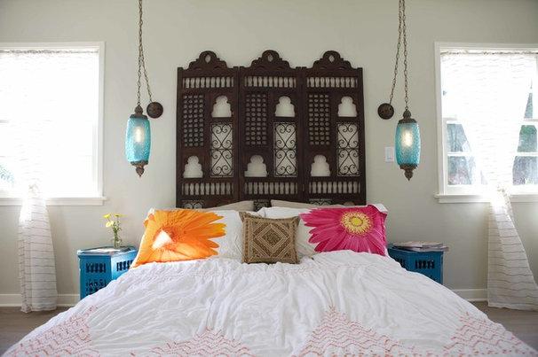 Mediterranean Bedroom by Design Vidal