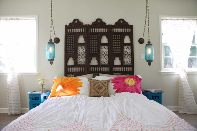 mediterranean bedroom by Design Vidal