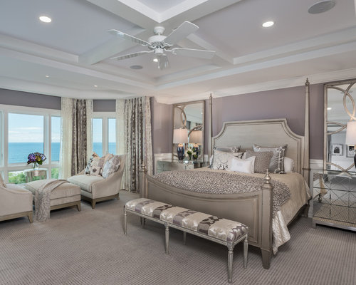 Master Bedroom Design Ideas Renovations Photos With Purple Walls