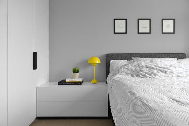 Скандинавский Спальня by hoo Interior Design & Styling