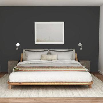 Manhattan Apartment - Bedroom