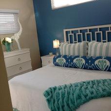 Beach Style Bedroom by 4G Design / Lane Lenhart