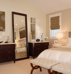 contemporary bedroom by Annette English