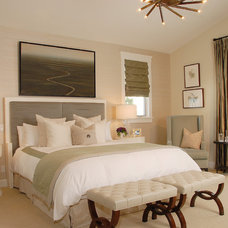 eclectic bedroom by Annette English