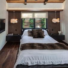 Asian Bedroom by Beach House Design & Development