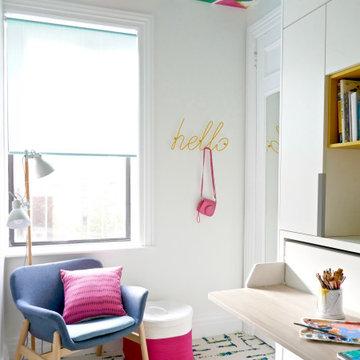 Manhattan Maid's Room is Transformed into a Creative Retreat