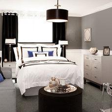 Modern Bedroom by Itsy Bitsy Ritzy Shop