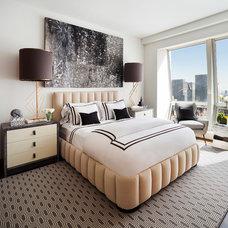 Contemporary Bedroom by Robert Granoff