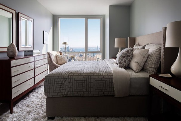 Modern Bedroom by Terrat Elms Interior Design
