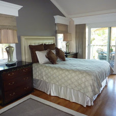 Contemporary Bedroom by Karin Lechner Designs