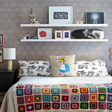 Eclectic Bedroom by Jacob Snavely Photography