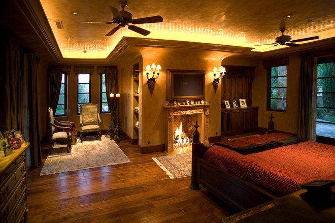 Mediterranean Bedroom by James Glover Residential & Interior Design