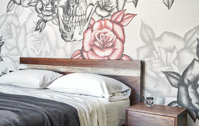 Houzz Tour: A New Start With Rock 'n' Roll and Tattoo Art