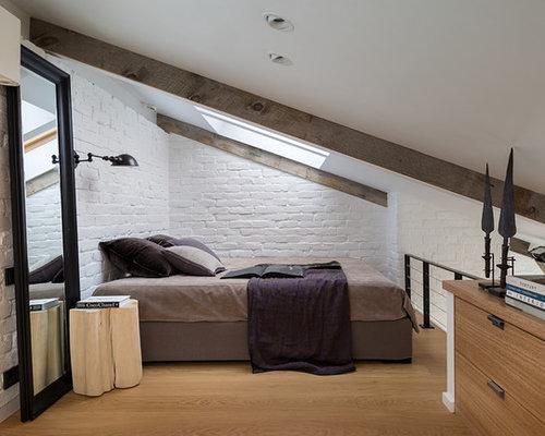 Skandinavische schlafzimmer im loft style ideen f rs einrichten - Schlafzimmer style ...
