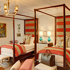 Eclectic Bedroom by Fun House Furnishings & Design