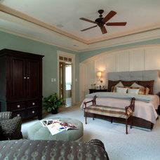 Traditional Bedroom by Peek Design Group