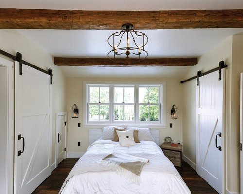 White Barn Door Houzz