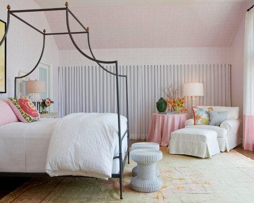 maritime schlafzimmer mit rosa wandfarbe ideen design bilder. Black Bedroom Furniture Sets. Home Design Ideas