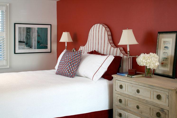 Beach Style Bedroom by Terrat Elms Interior Design