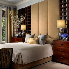 Modern Bedroom by Marc-Michaels Interior Design