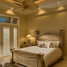 Transitional Bedroom by Kevin Williams Construction, Inc.