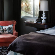 Eclectic Bedroom by Alison Mountain Interior Design