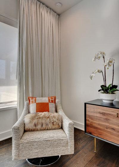 Современный Спальня by Cornerstone Architects