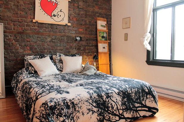 エクレクティック 寝室 by Laura Garner