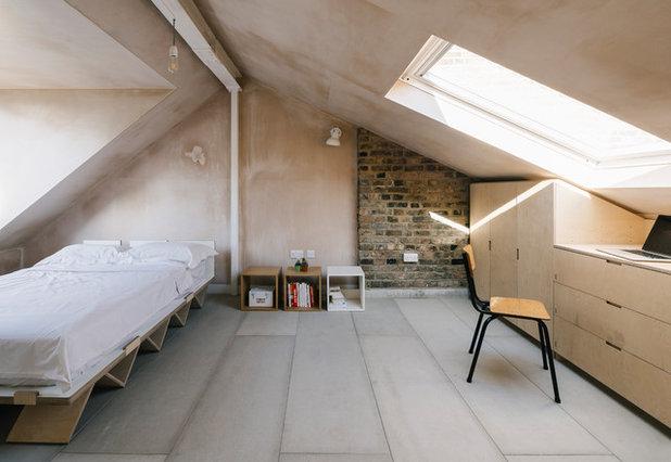 Скандинавский Спальня by Webb Yates Engineers