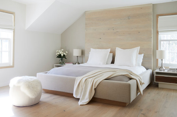 Beautiful Contemporary Bedroom by NOA Design Construction