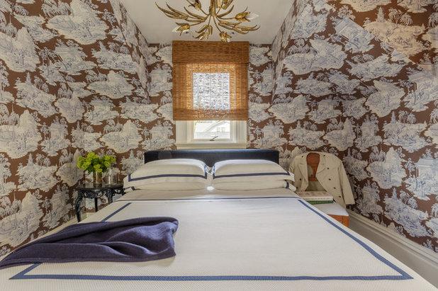 Eclectic Bedroom by Laura Hunt Design
