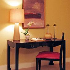Contemporary Bedroom by Susan Corry Design