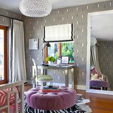 Contemporary Bedroom by Kriste Michelini Interiors