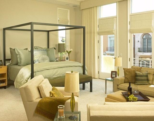 Contemporary Bedroom by Joani Stewart-Georgi - Montana Ave. Interiors