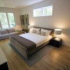 Gallery Loft Modern Bedroom Los Angeles By