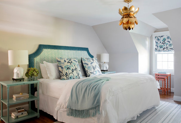 Beach Style Bedroom by Emily Condon Design