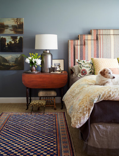 Farmhouse Bedroom by Laura Moss Photography