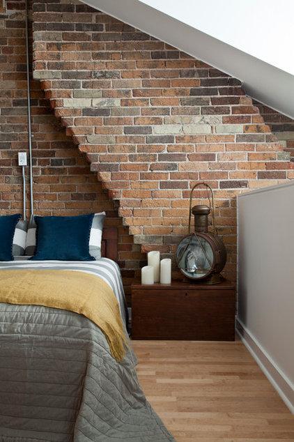 Industrial Bedroom by Rad Design Inc
