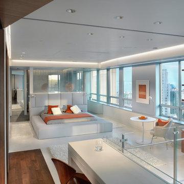 Market Street Penthouse Bed Room