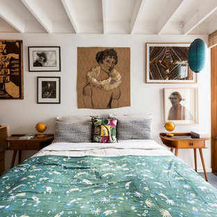 Inspiration for an eclectic bedroom remodel in Sydney